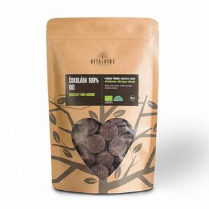 Vitalvibe Čokoláda 100% BIO 250 g