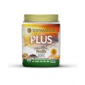 Sunwarrior Protein Plus BIO vanilkový 375 g