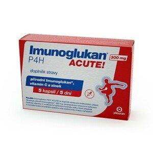 PLEURAN, s.r.o. Imunoglukan P4H® ACUTE 300 mg 5 kapslí