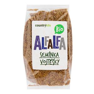 Country Life Alfalfa semínka vojtěšky BIO 125 g