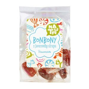 Country Life Bonbony z javorového sirupu 60 g
