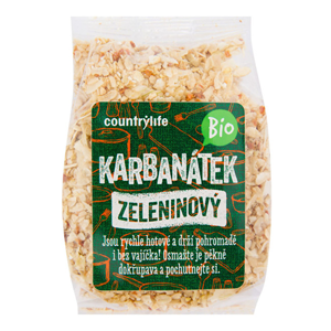 Country Life Karbanátek zeleninový BIO 200g