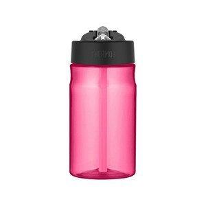 Thermos Dětská hydratační láhev s brčkem - růžová 350 ml