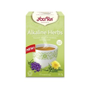 Yogi Tea Bio zásadité bylinky Yogi Tea 17 x 2,1 g