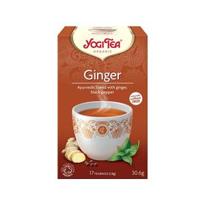 Yogi Tea Bio Zázvor Yogi Tea 17 x 1,8 g