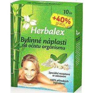 Herbamedicus Bylinné náplasti na očistu organismu 10+40% GRATIS 14x9g