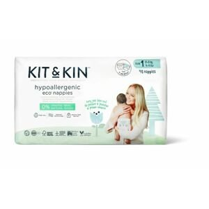Kit & Kin Kit & Kin eko plenky, velikost 1 (40 ks), 2-6 kg