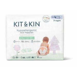 Kit & Kin Kit & Kin eko plenky, velikost 4 (34 ks), 10-17 kg