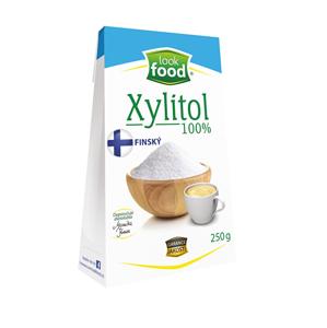 Look food s.r.o Xylitol 100% 250 g Finský