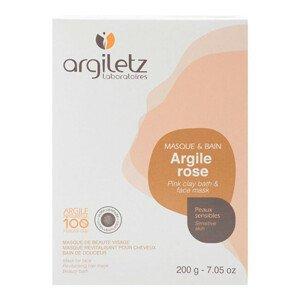 Argiletz Jíl růžový ultra ventilovaný maska & koupel 200 g