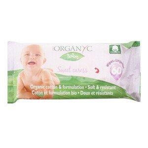 Organyc Dětské čisticí ubrousky BIO bavlna 60 ks