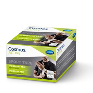 Cosmos Cosmos Active - Sportovní tejp bílý 3,75 cm x7 m