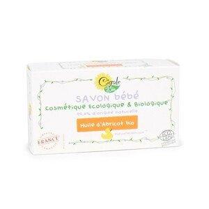 Cigale BIO Hypoalergenní mýdlo Baby s BIO meruňkovým olejem 100 g