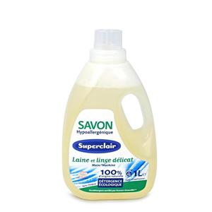 Superclair Hypoalergenní tekuté mýdlo na praní vlny a jemného prádla 1 l