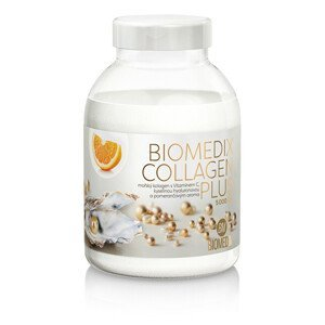 Biomedix Biomedix Kolagen Plus 400 g - pomeranč