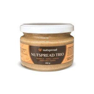 Nutspread 100% Trio ze tří druhů ořechů 250 g