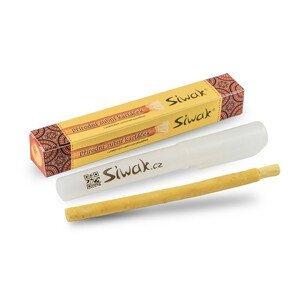 Siwak Miswak přírodní kartáček na zuby s pouzdrem
