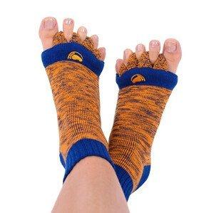 Happy Feet HF10 Adjustační ponožky Orange/Blue