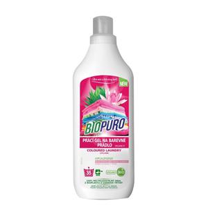 Biopuro Organický tekutý prací gel na barevné prádlo (35 praní) 1 l
