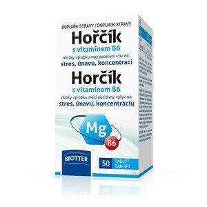 Biotter Pharma Hořčík 125 mg s vitamínem B6 50 tablet
