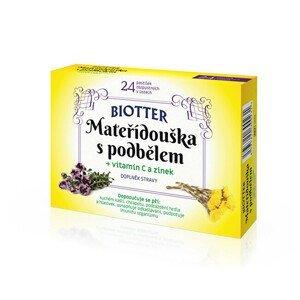 Biotter Pharma Mateřídouška s podbělem 24 tablet