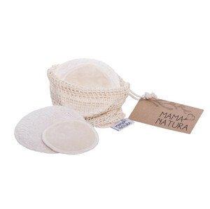 Tierra Verde Tierra Organica sada kosmetických tamponů z biobavlněného sametu malý +velký 2 ks 4 ks