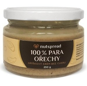 Nutspread 100% máslo z para ořechů 250 g
