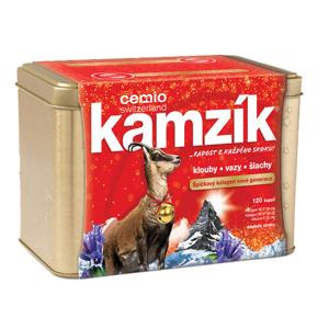 Cemio Cemio Kamzík 120 kapslí v plechové krabičce