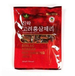 GINLAC Ženšenové želé bonbony 300 g