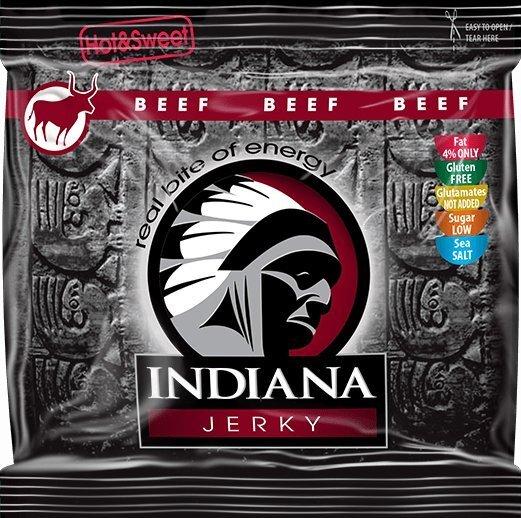 Indiana Indiana Jerky beef (hovězí) Hot & Sweet 60 g