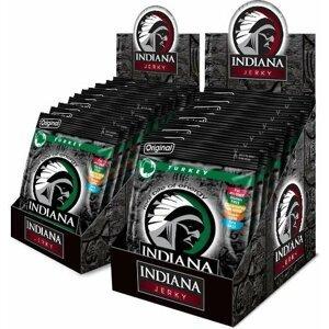 Indiana Indiana Jerky turkey (krůtí) Original 600 g - display