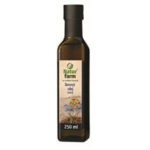 Natur farm Lněný olej 0,25 l