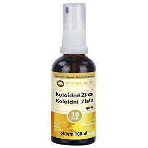 Pharma Activ Koloidní zlato 10ppm 100 ml spray – pro VO