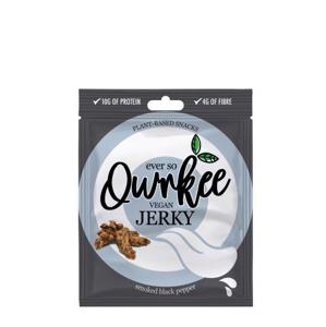 Qwrkee Vegan Jerky - Černý pepř 70 g