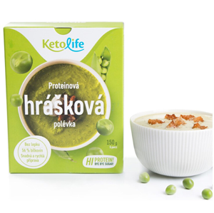 KetoLife Proteinová polévka - Hrášková 5 x 30 g