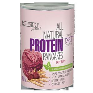 Prom-in All natural protein pancake 700 g Červená řepa