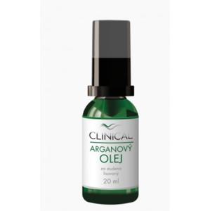 Clinical Arganový olej lisovaný za studena 20 ml