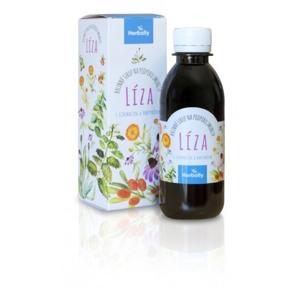 Herbally LÍZA bylinný sirup na podporu imunity s echinaceou a rakytníkem 200 ml