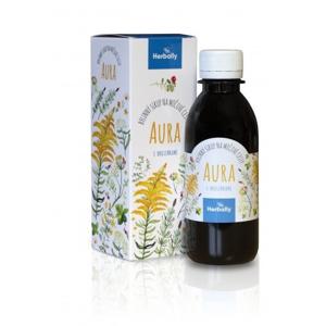 Herbally AURA bylinný sirup na močové cesty s brusinkami 200 ml