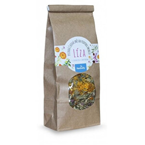 Herbally LÍZA, Bylinná čajová směs na podporu imunity, s echinaceou a rakytníkem 50 g