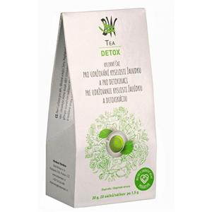 Body Wraps Tea BW Tea Detox - Bylinný čaj pro detoxikaci organismu a udržování kyselosti žaludku 20 sáčků