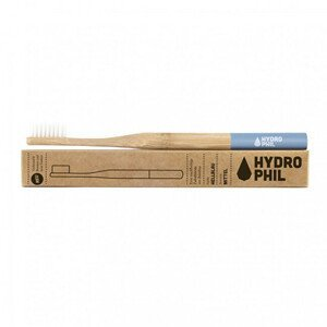 Hydrophil Bambusový kartáček medium Modrý