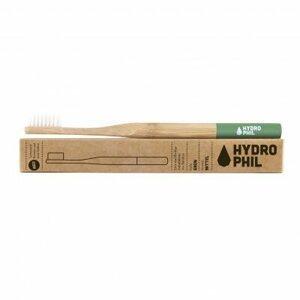 Hydrophil Bambusový kartáček medium Zelený