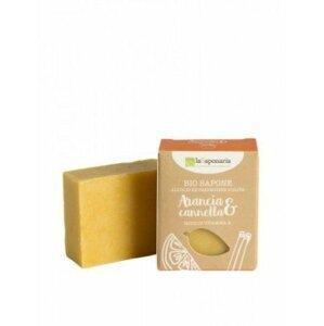 laSaponaria Tuhé olivové mýdlo BIO 100 g Pomeranč - skořice
