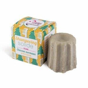 Lamazuna Tuhý šampon pro normální vlasy 55 g Borovice
