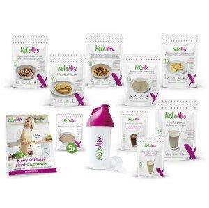 KetoMix Ketonová dieta na 2 týdny (70 porcí) 2 620 g