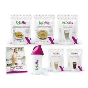 KetoMix Ketonová dieta na 7 dní (35 porcí) 1 545g