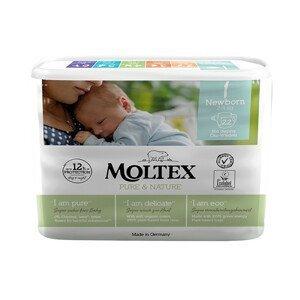 Moltex Pure & Nature Plenky Moltex Pure & Nature Newborn 2-4 kg (22 ks)