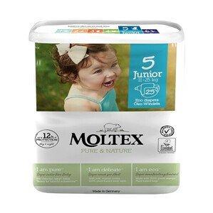 Moltex Pure & Nature Plenky Moltex Pure & Nature Junior 11-25 kg (25 ks)
