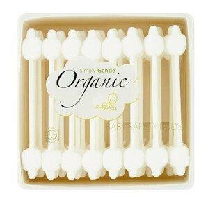 Simply Gentle Organické vatové tyčinky Simply Gentle (200 ks)